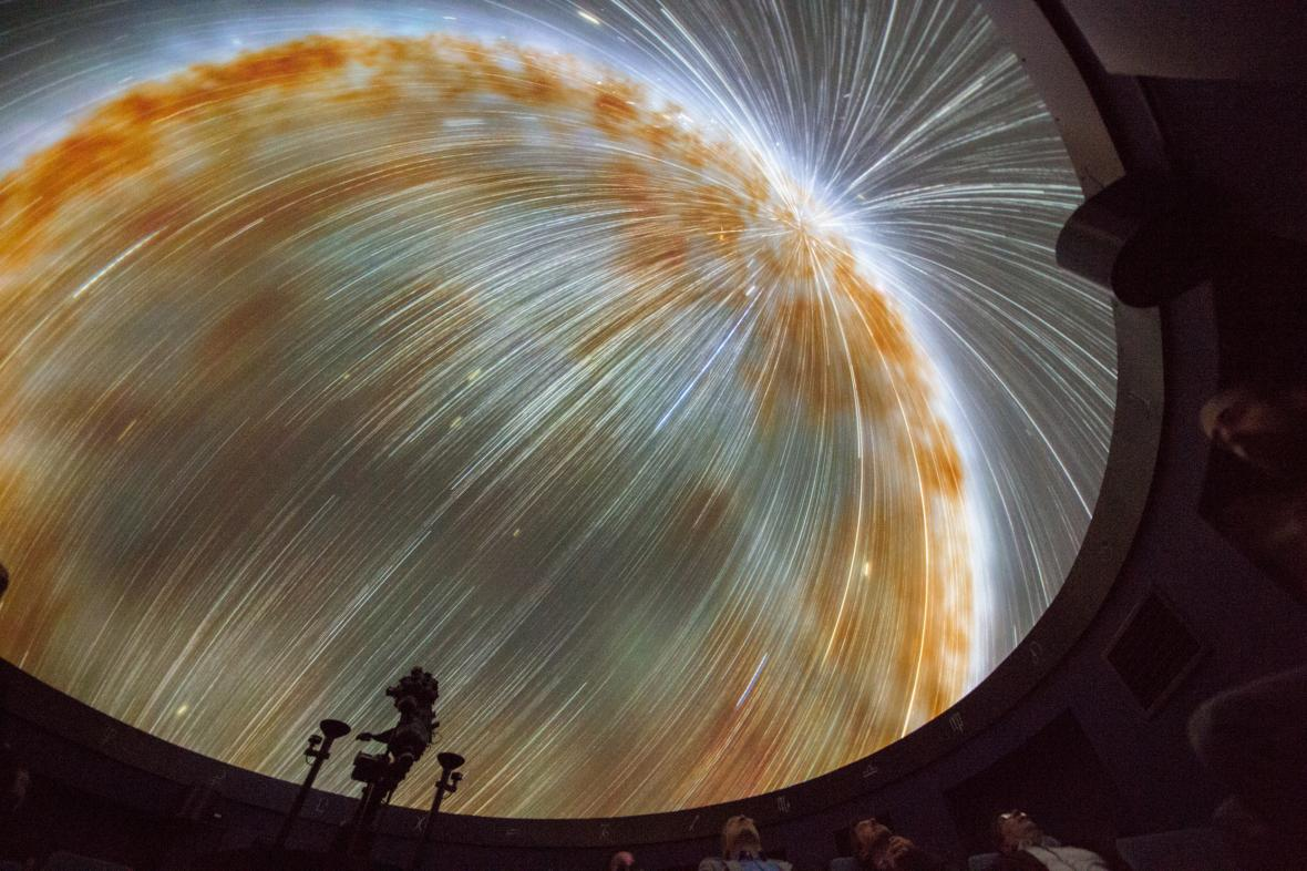 Nové planetárium v Českých Budějovicích
