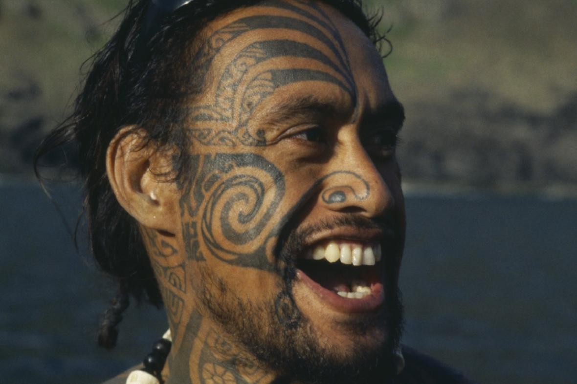 Tetování z Polynésie