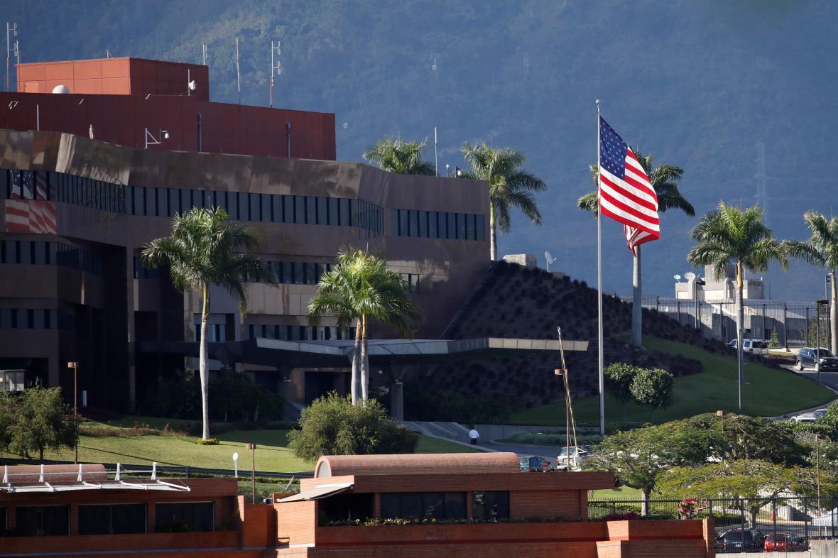 Americká ambasáda v Caracasu