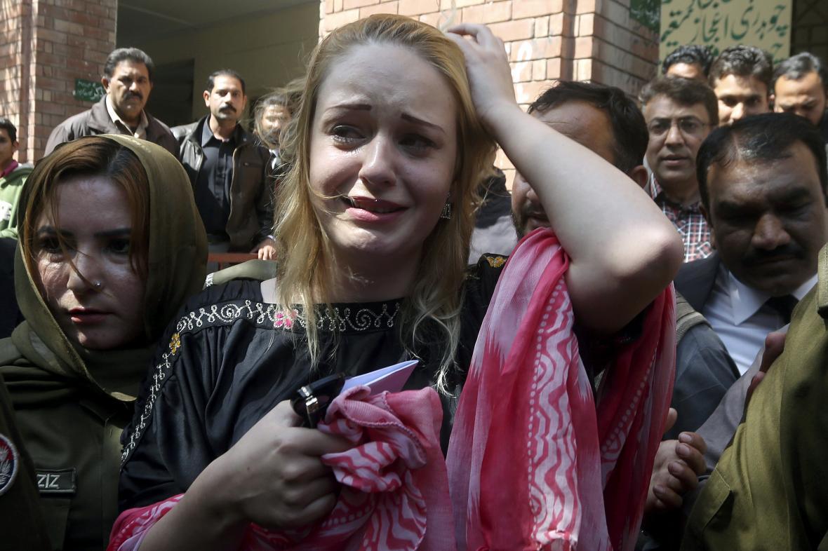 Češka odsouzená v Pákistánu za pašování drog