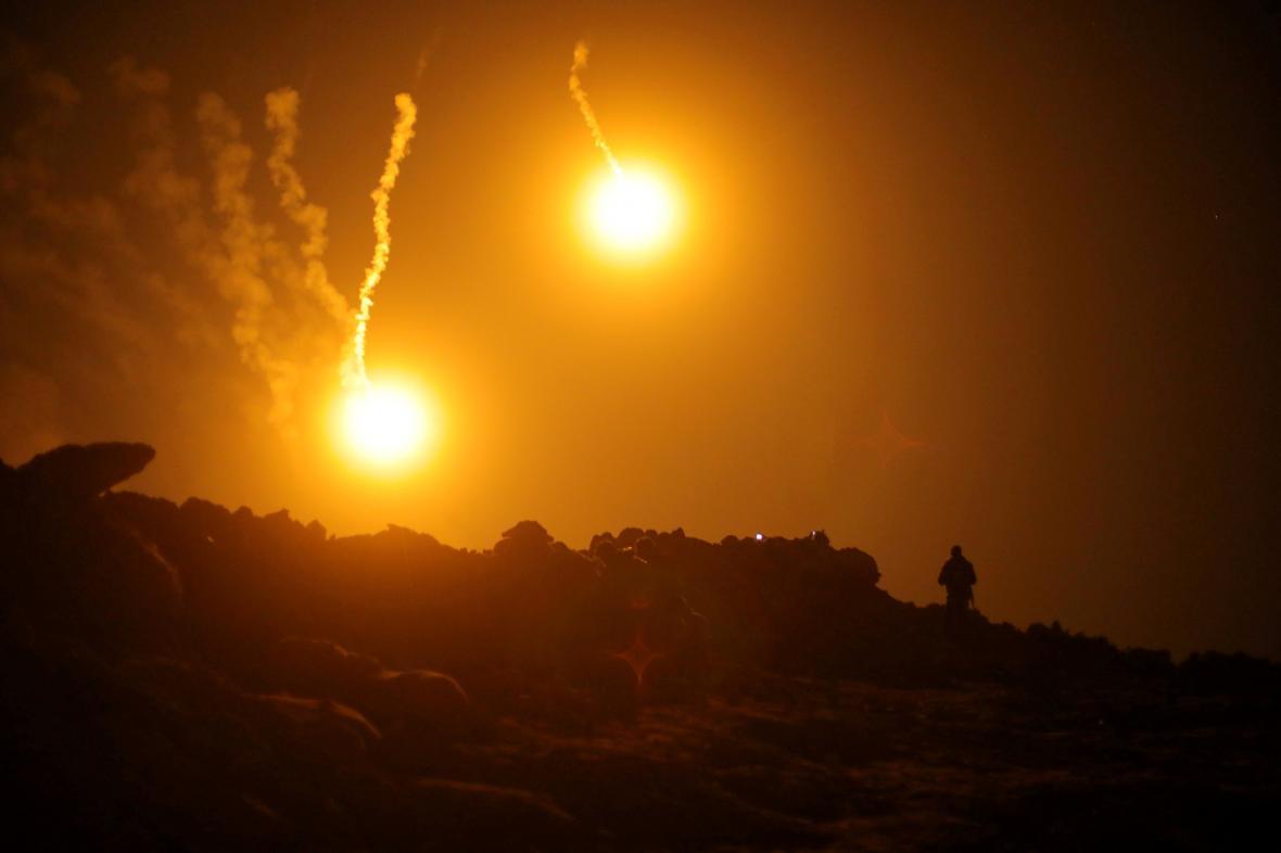 Poslední boje v polovině března v Baghúzu