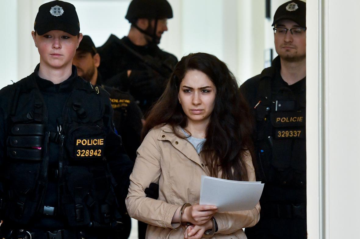 Podezřelá Rijám Šukrí Salí Badríová
