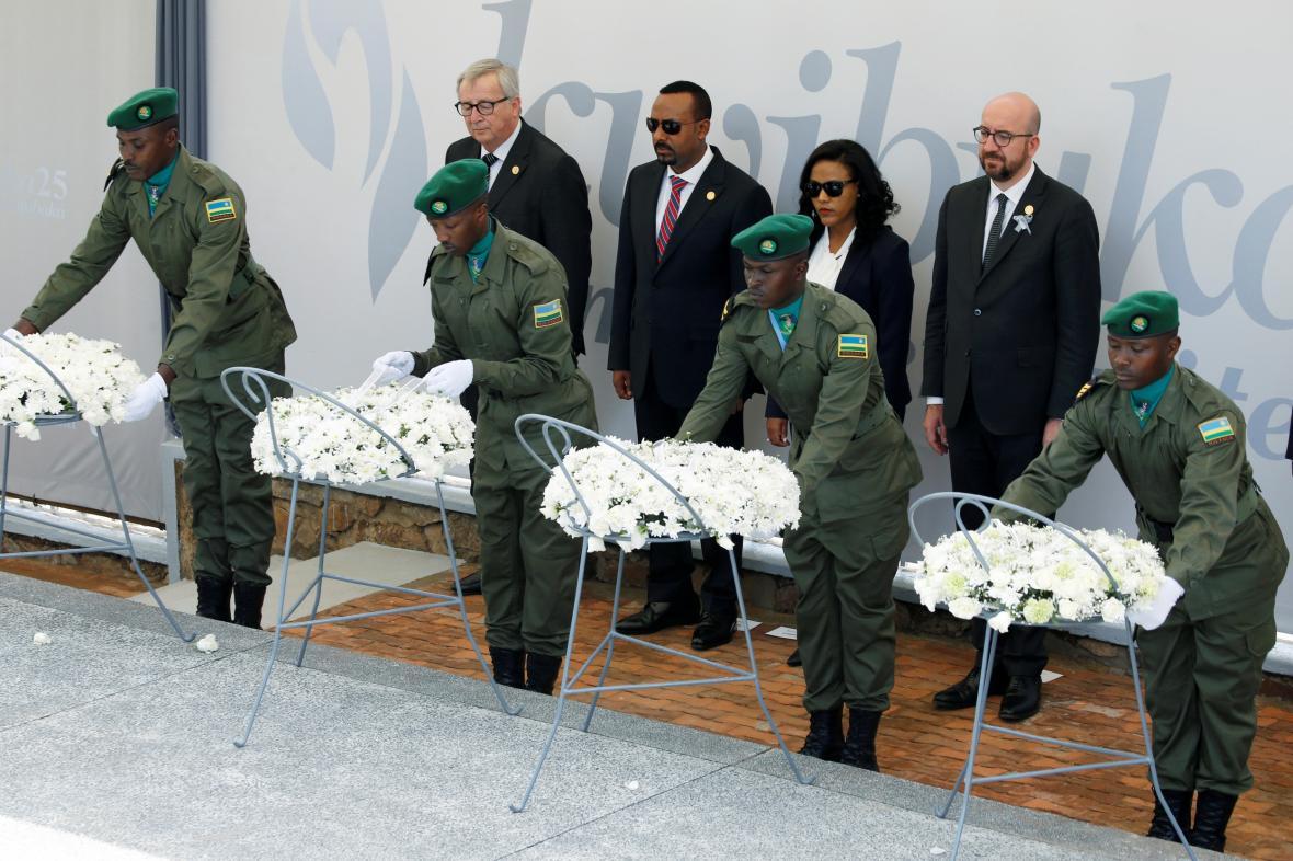 Ve Rwandě začaly za účasti zahraničních politiků pietní akce k 25. výročí začátku genocidy