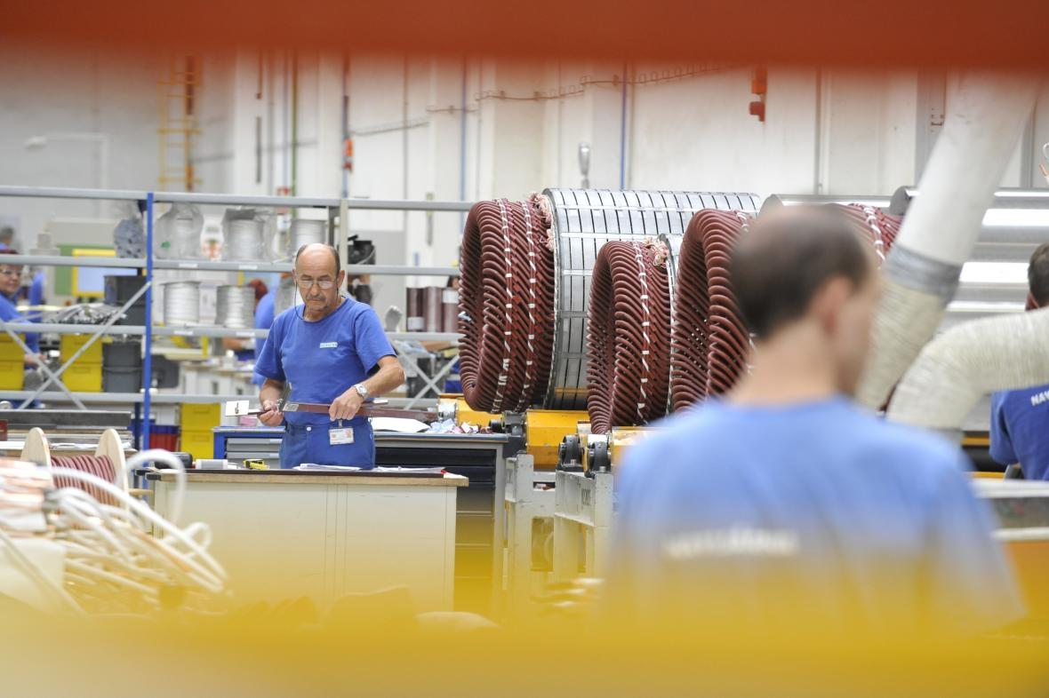 Výrobní závod Siemens Electric Machines Drásov