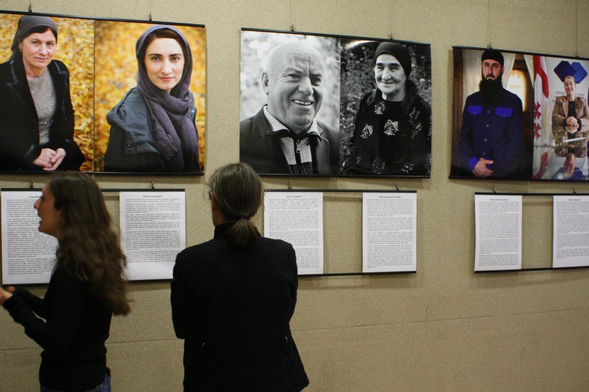 Vernisáž výstavy Kistové z Pankisi