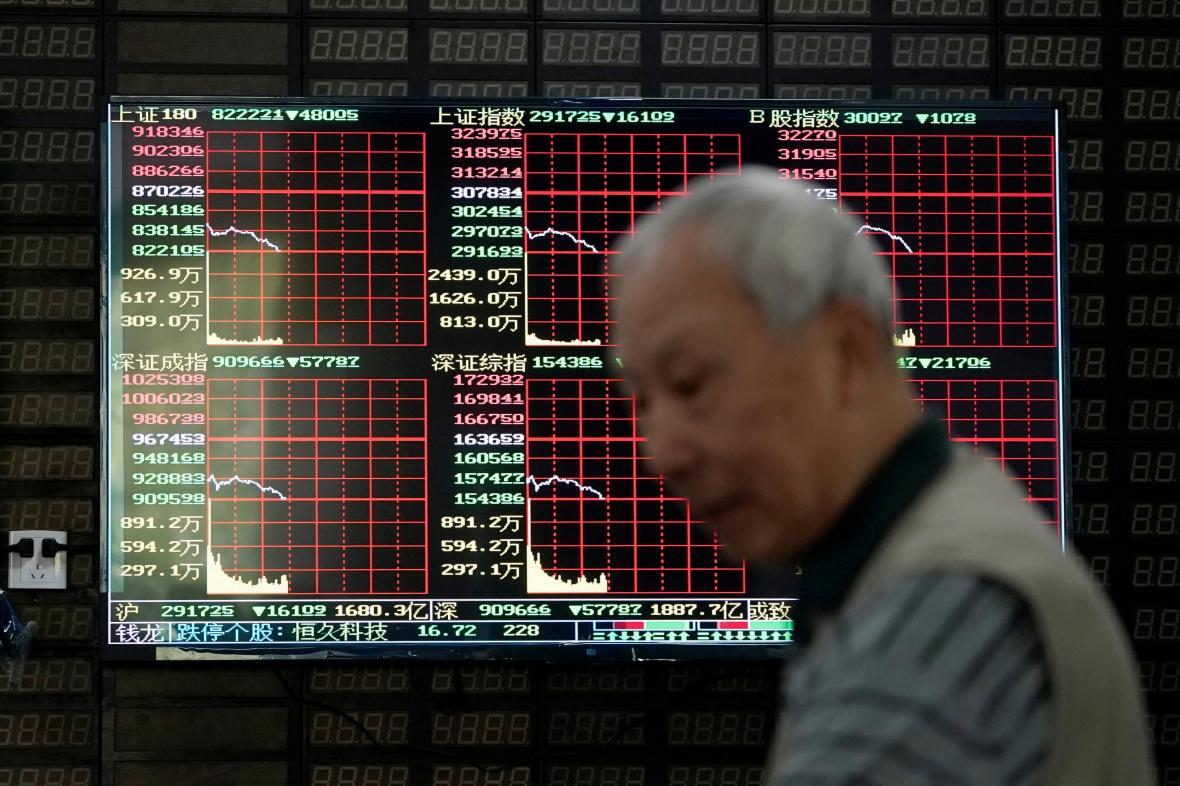 Čínská burza