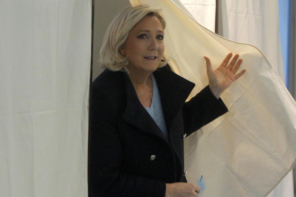 Marine Le Penová u voleb