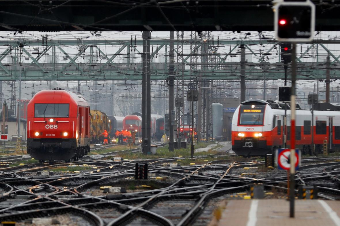 Železniční doprava v Rakousku