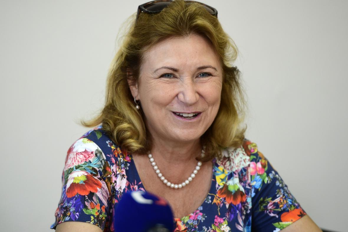 Eva Zamrazilová, předsedkyně Národní rozpočtové rady