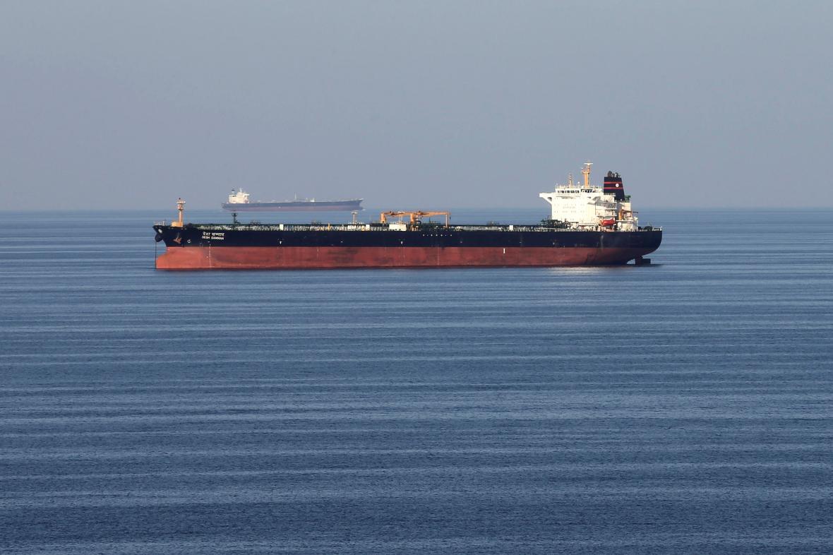 Tanker v Hormuzském zálivu