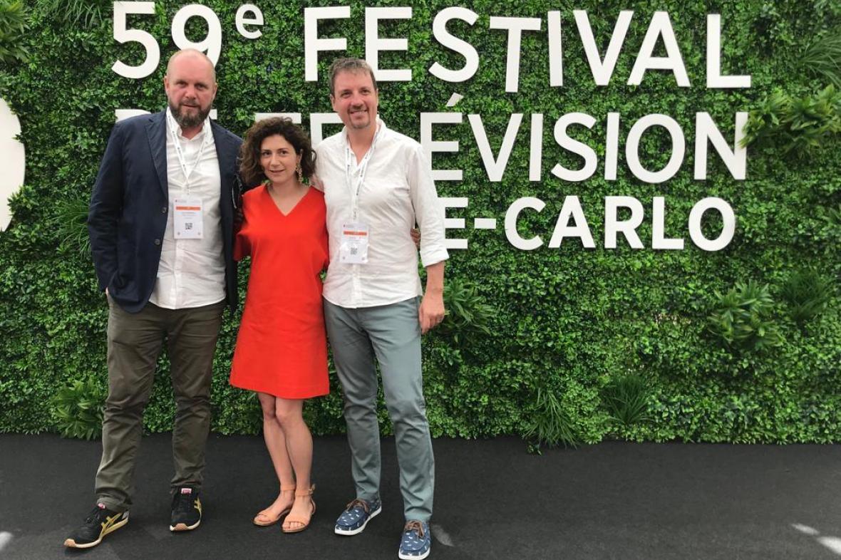 Uvedení filmu Dukla 61 na festivalu v Monte Carlu