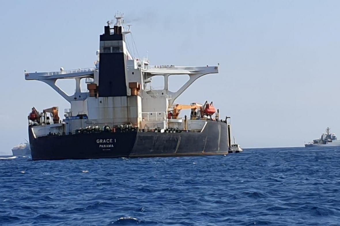 Ropný tanker Grace 1
