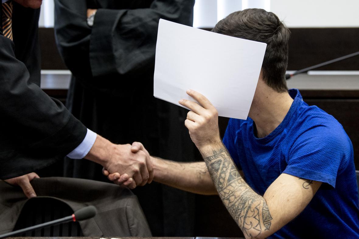 Odsouzený Iráčan u soudu