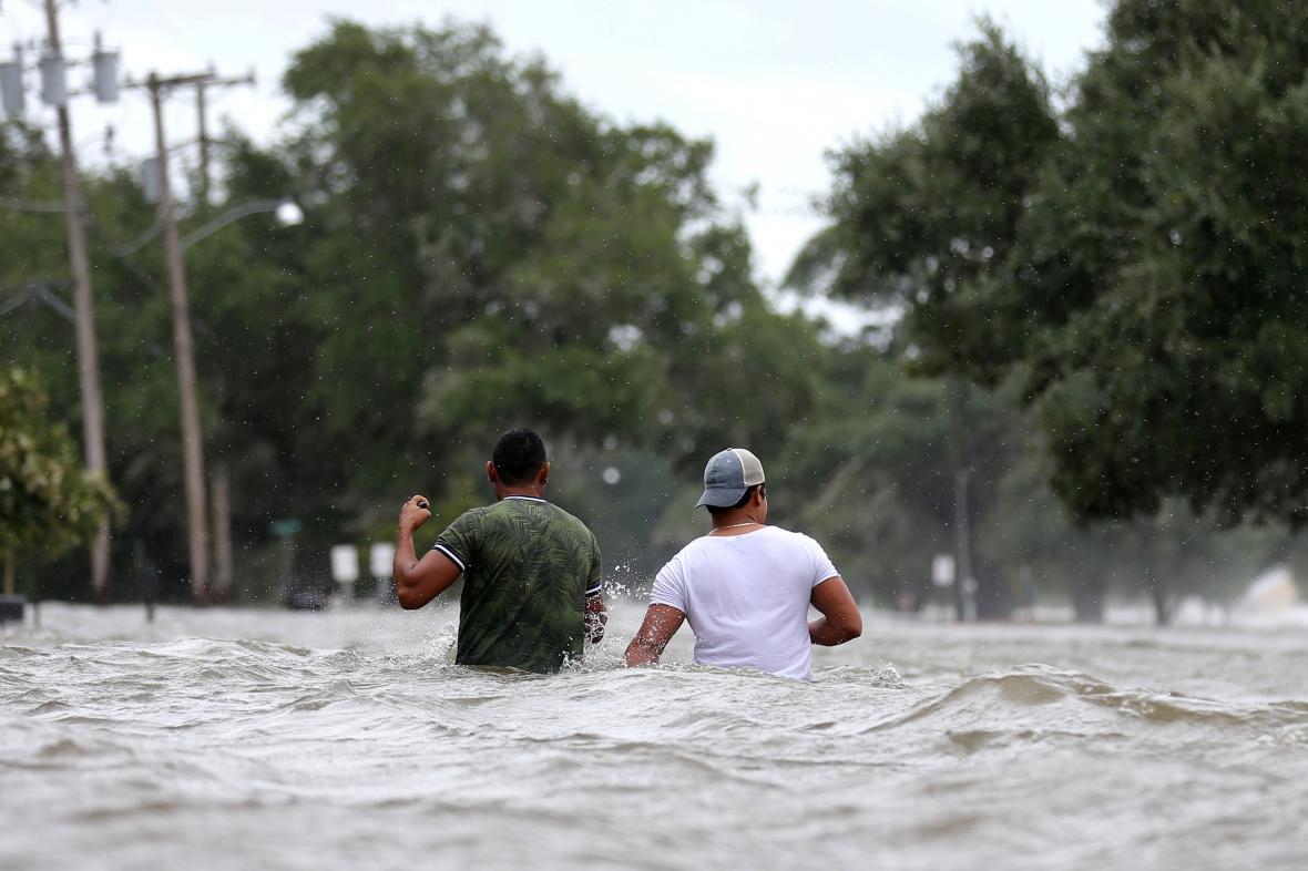 Tropická bouře Barry