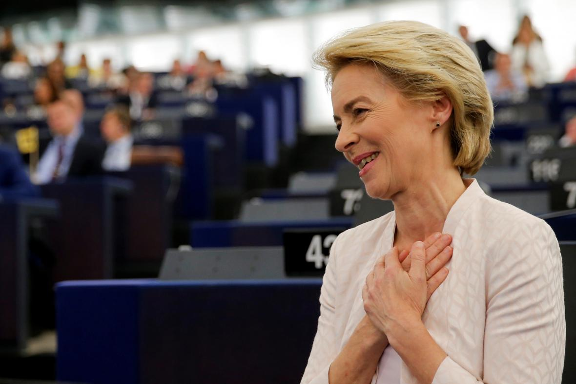 Ursula von der Leyenová bude šéfkou Evropské komise