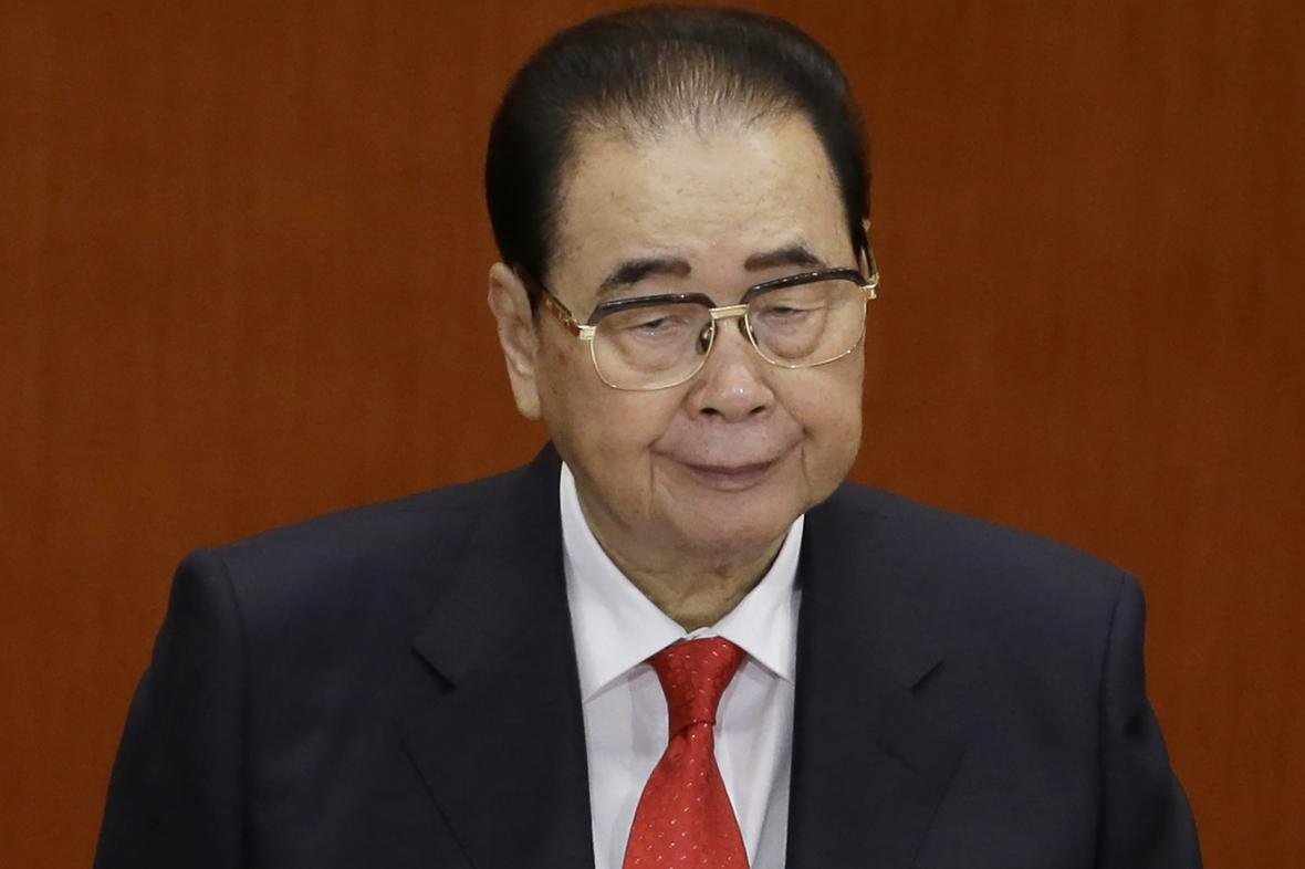 Čínský expremiér Li Pcheng