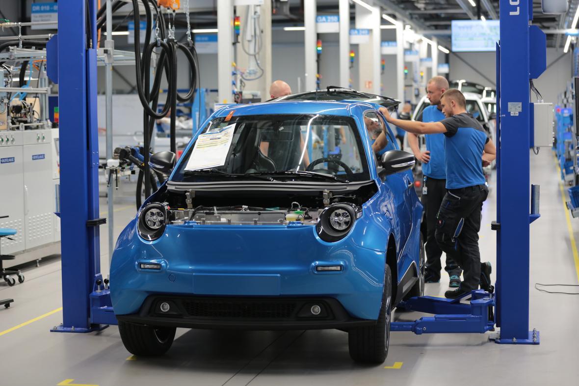 Výroba elektrických aut v Německu