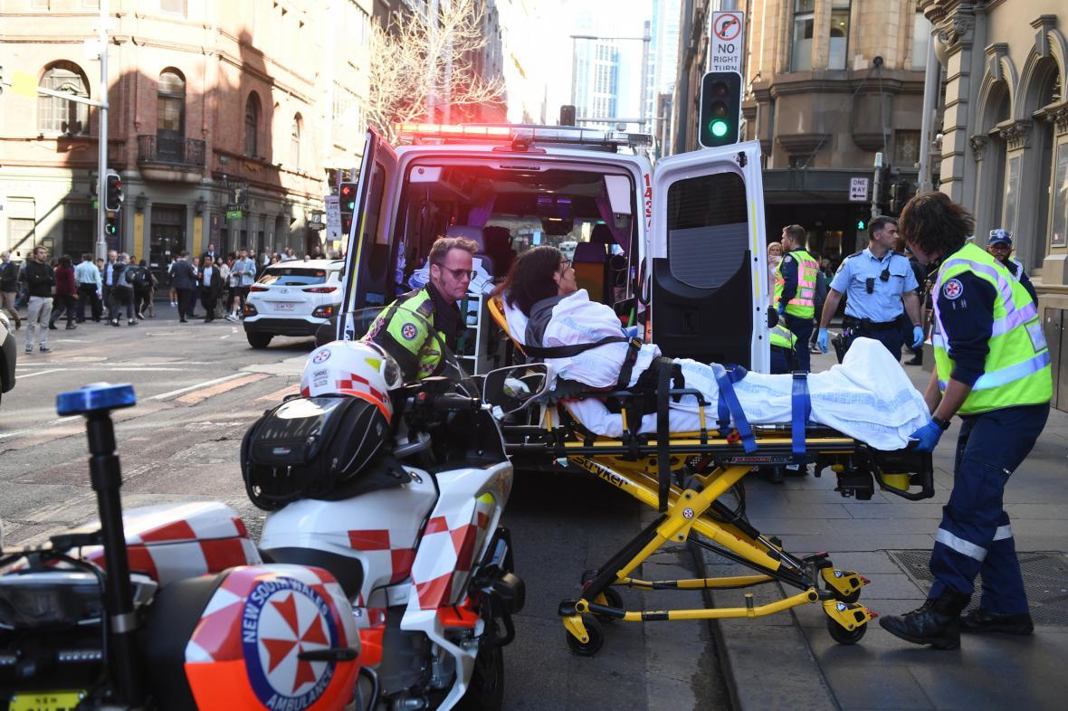 Žena zraněná při útoku v Sydney