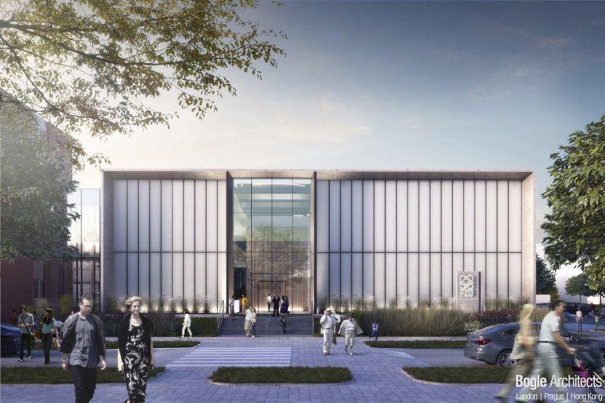 Centrum pro špičkový výzkum fyziky pevných látek - vizualizace