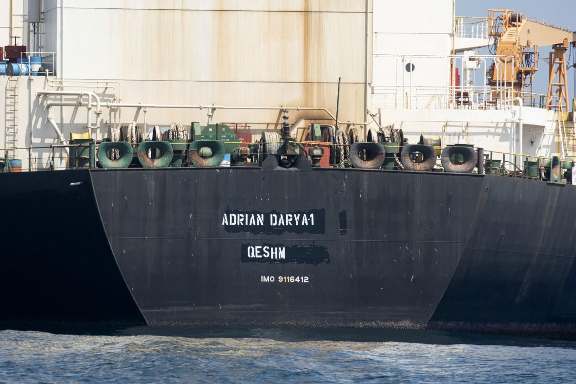 Íránský tanker