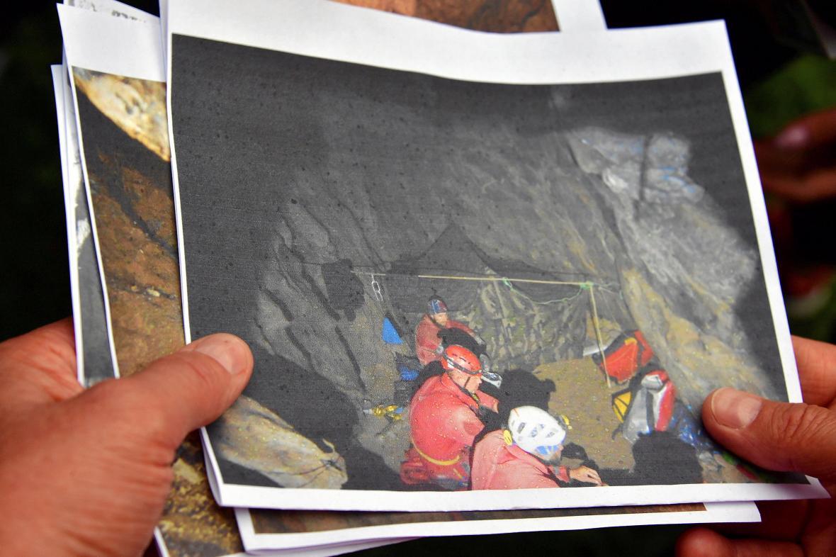Záchranná akce v polské jeskyni