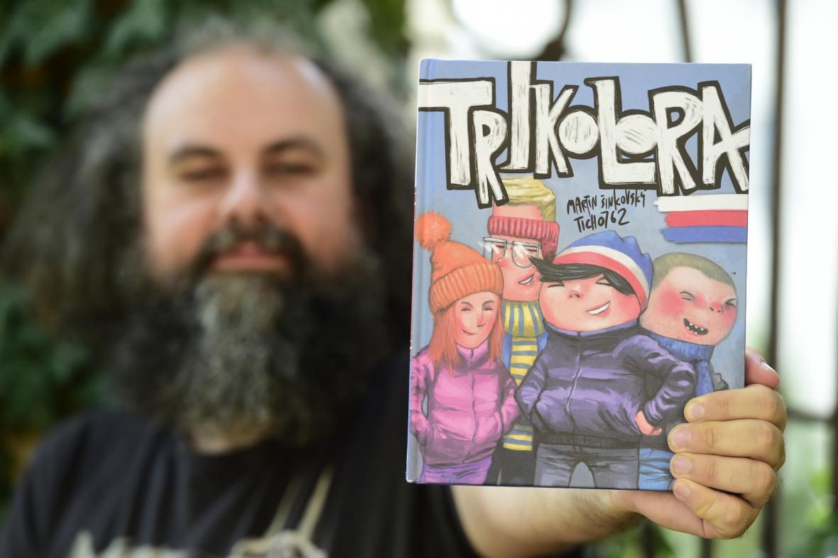 Martin Šinkovský a komiks Trikolora