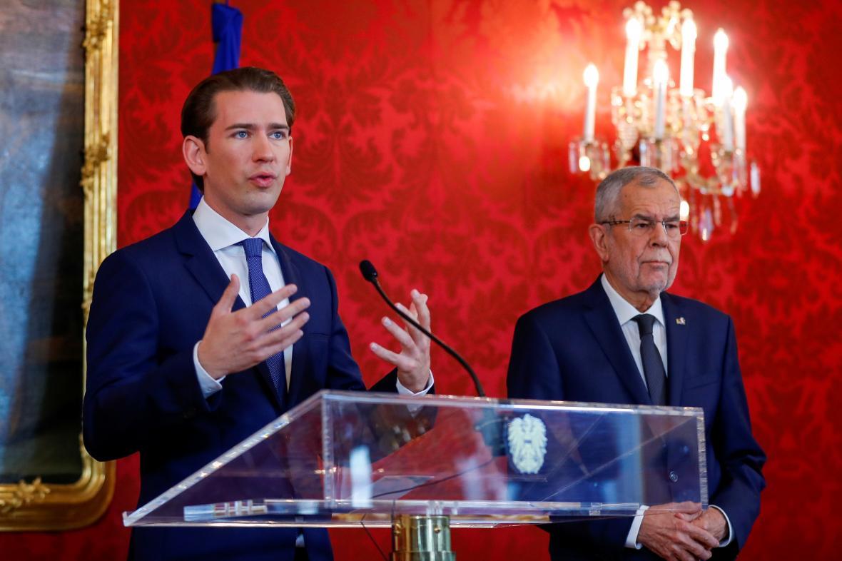 Sebastian Kurz a Alexander van der Bellen