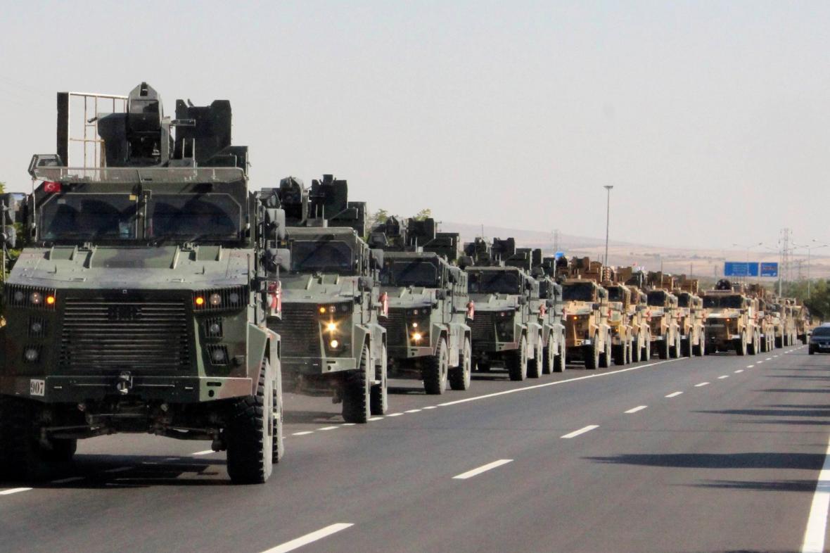 Turecký konvoj