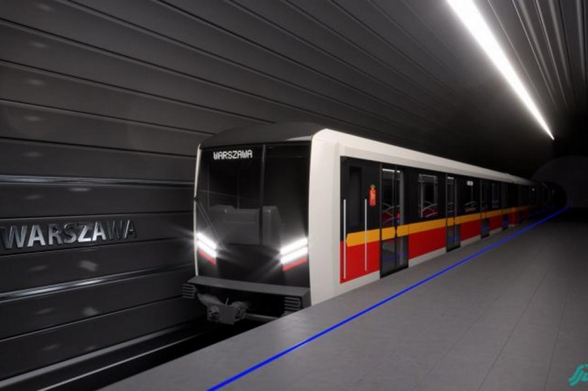 Souprava pro varšavské metro