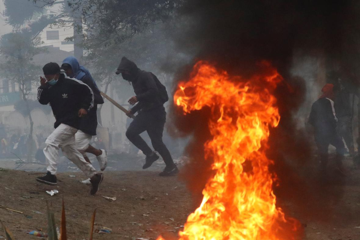 Protesty v Ekvádoru
