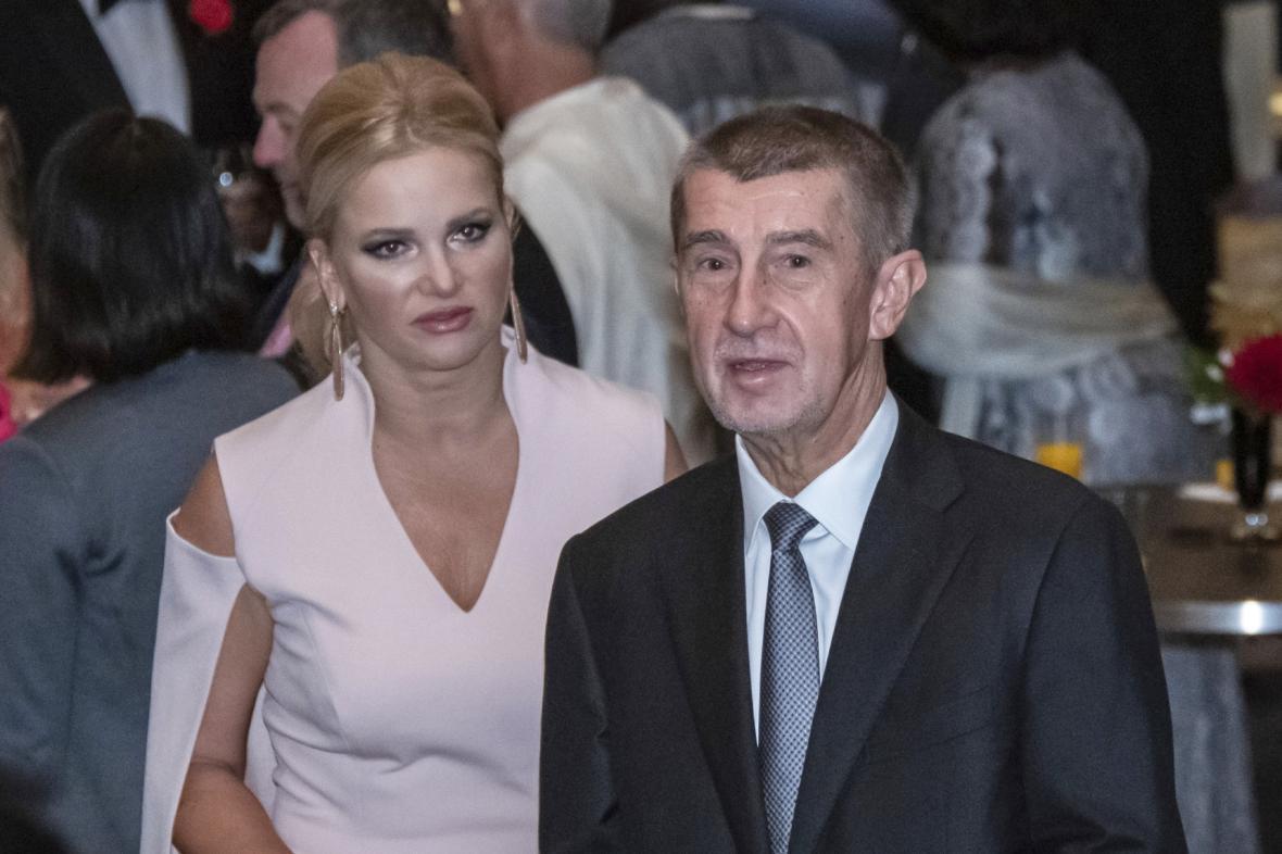 Premér Andrej Babiš (ANO) v doprovodu manželky Moniky Babišové během návštěvy v Japonsku