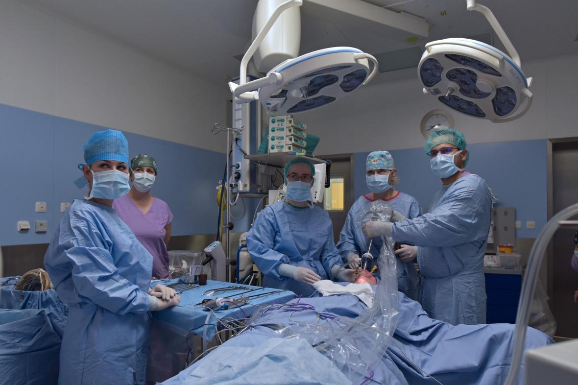 Operace štítné žlázy přes dutinu ústní