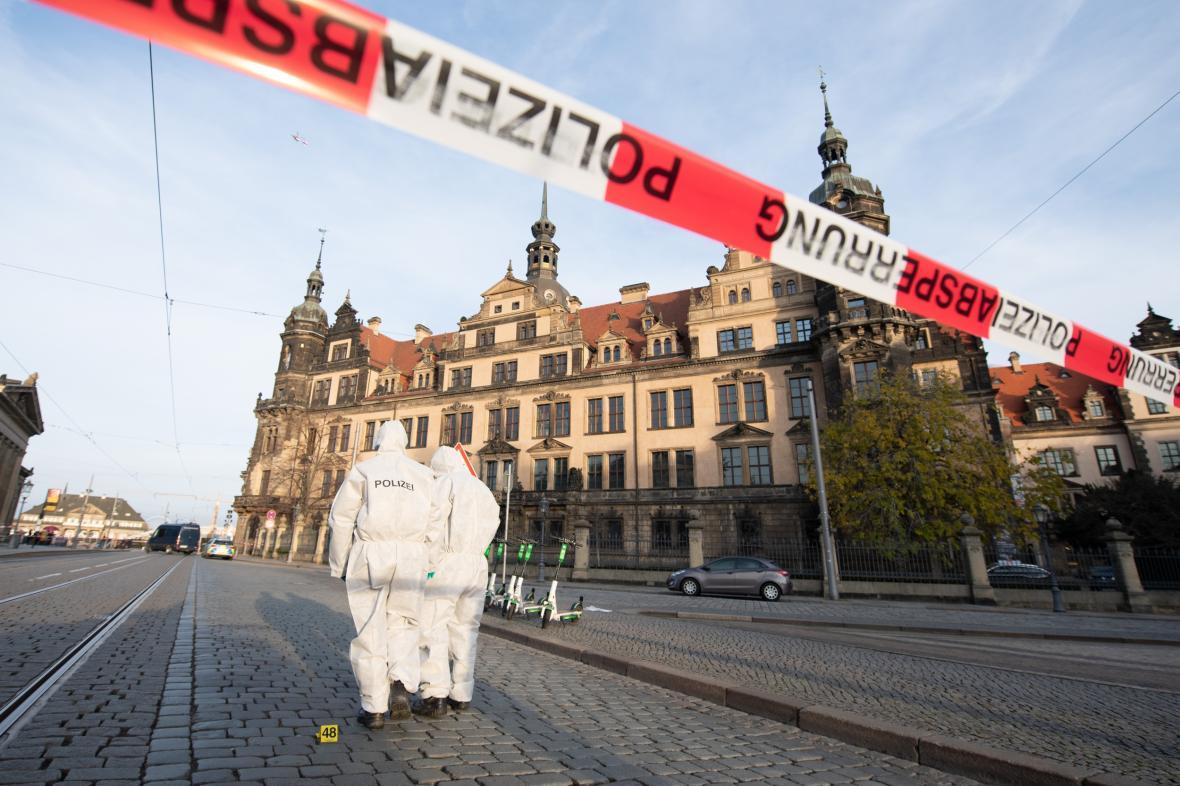 Krádež v drážďanské klenotnici