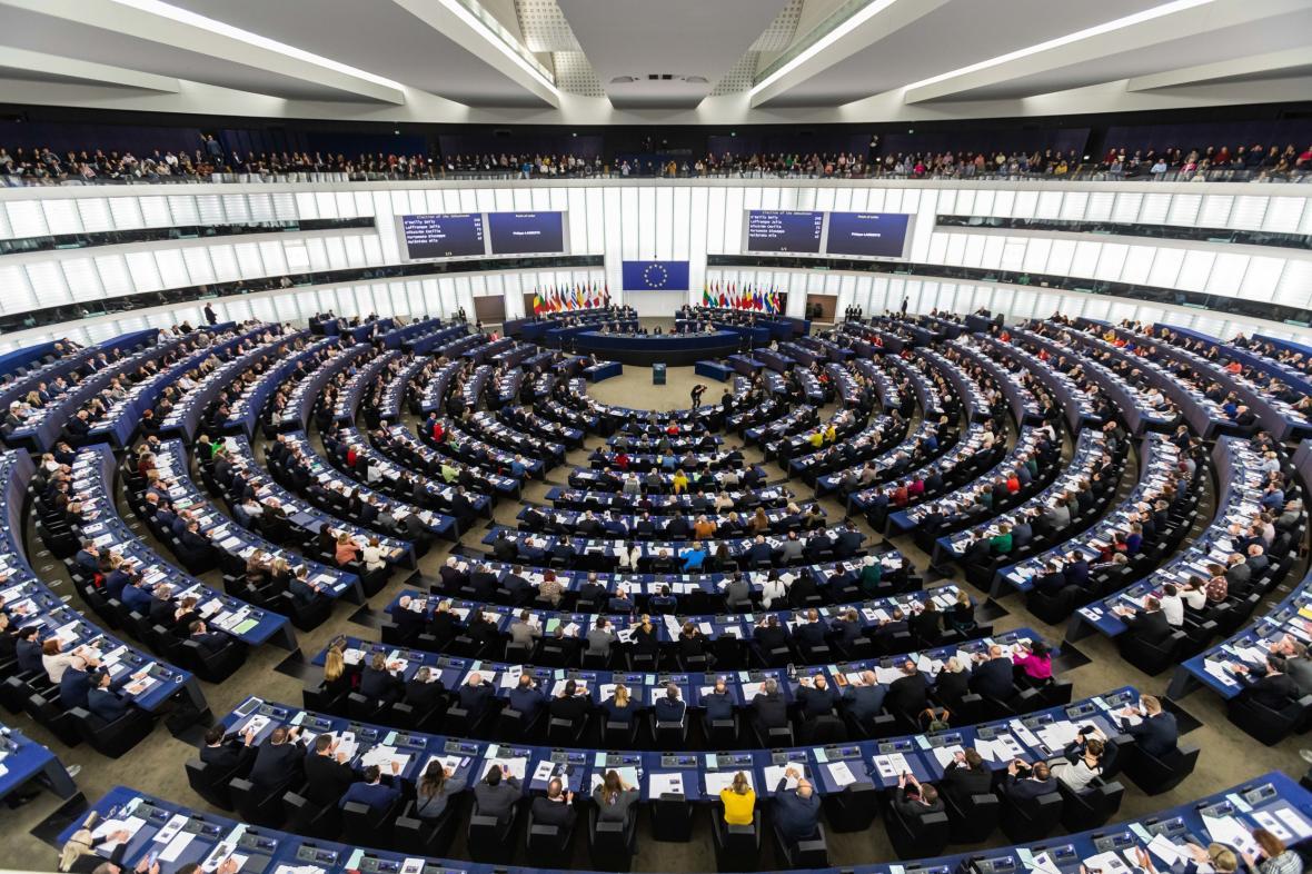 Plenární zasedání Evropského parlamentu