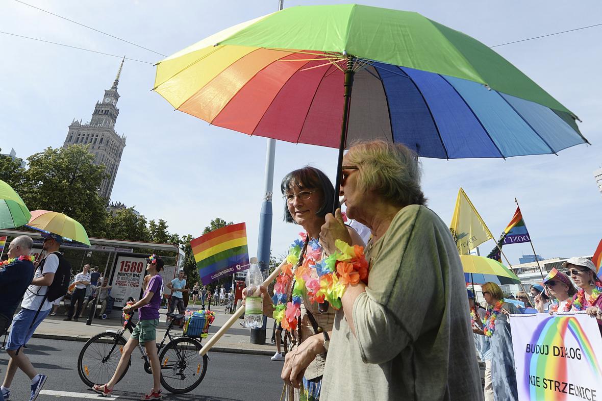 Gay Pride ve Varšavě