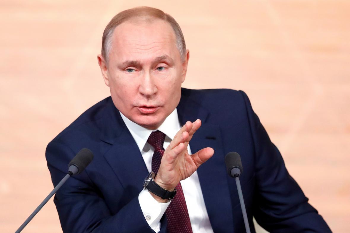 Šéf Kremlu Vladimir Putin