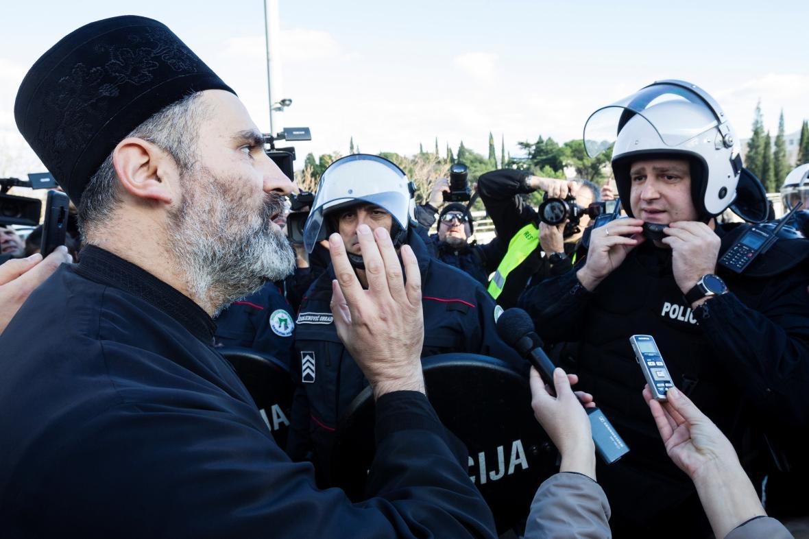 Demonstrace proti zákonu o náboženských svobodách