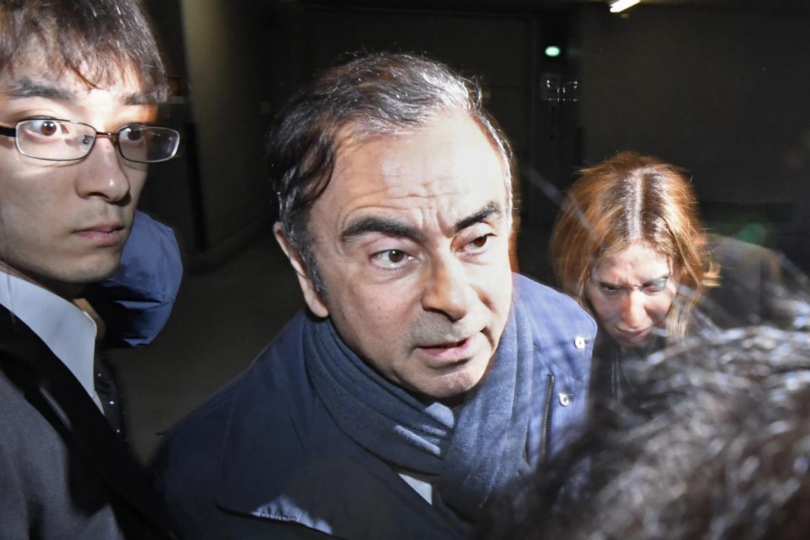 Exšéf automobilky Nissan Carlos Ghosn
