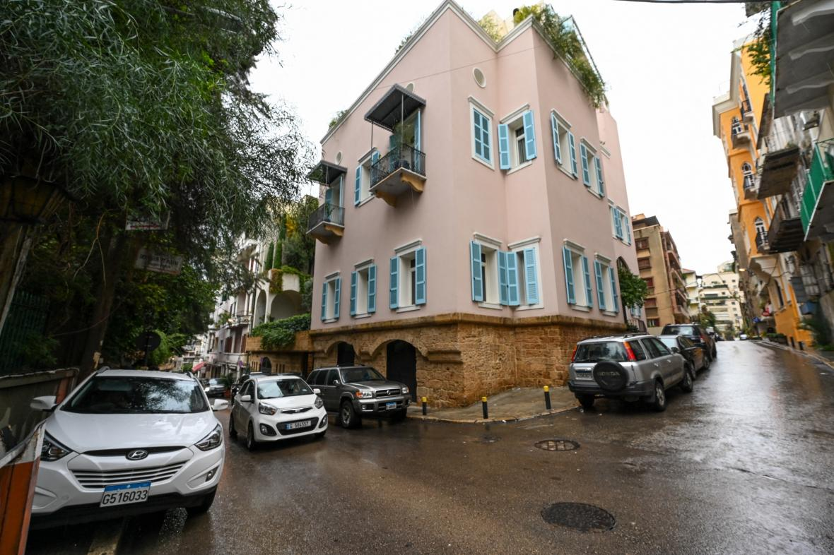 Dům Carlose Ghosna v Bejrútu