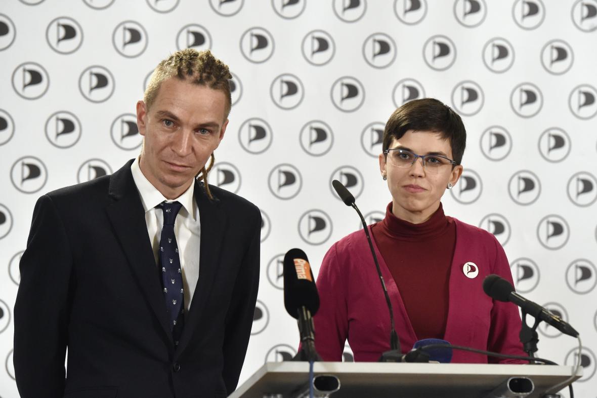 Ivan Bartoš a Olga Richterová