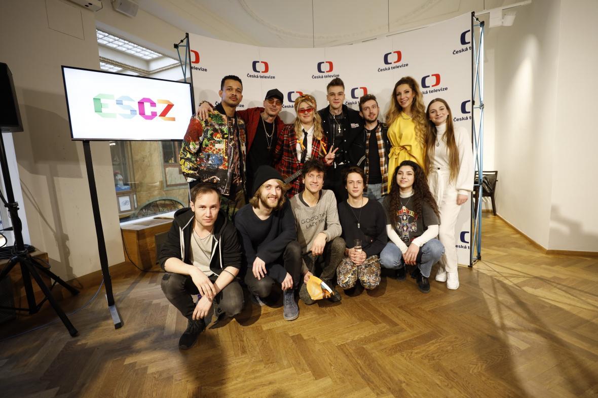 Finalisté národního kola Eurovision Song Contest 2020