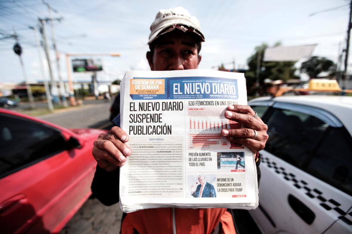Místní tisk v Nikaragui