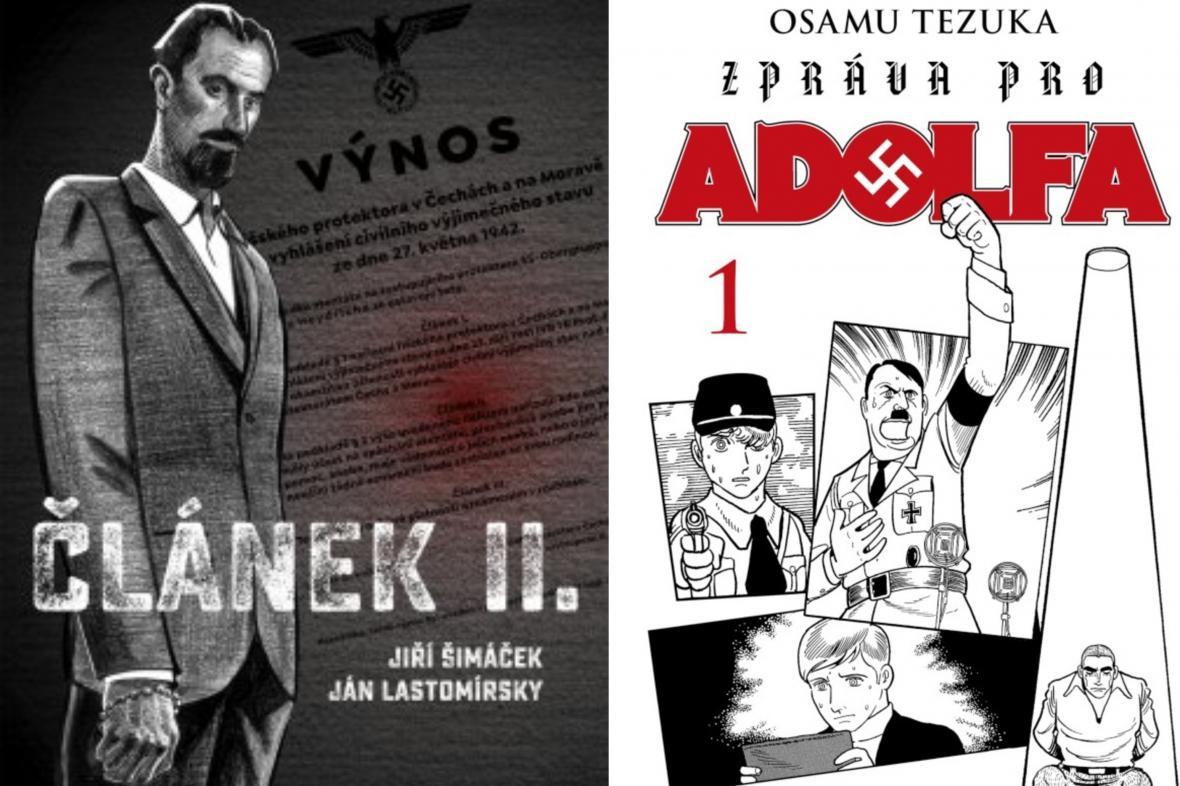 Ocenění komiksy: Článek II. a Zpráva pro Adolfa