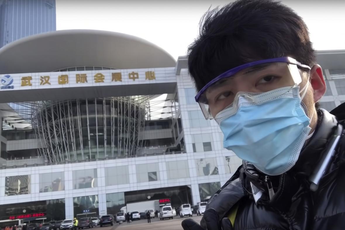 Umlčený bloger Čchen Čchiou-š'