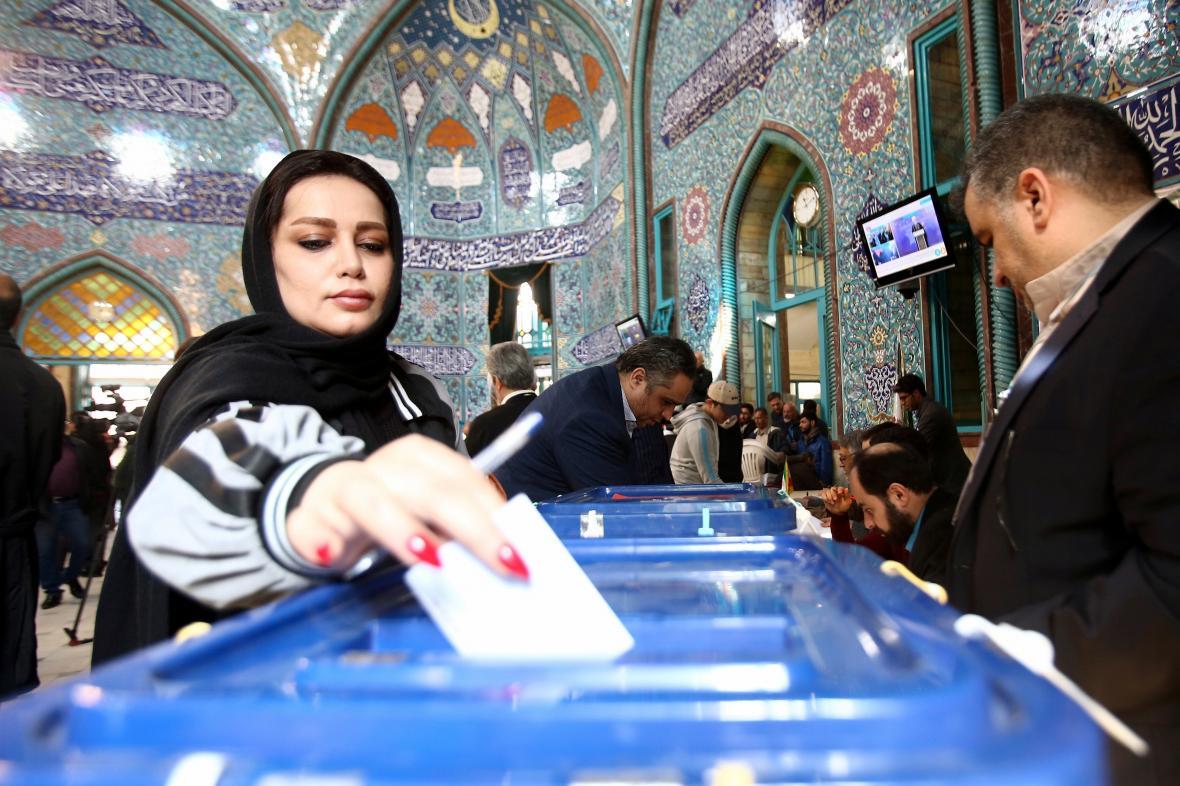 Íránské volby do parlamentu