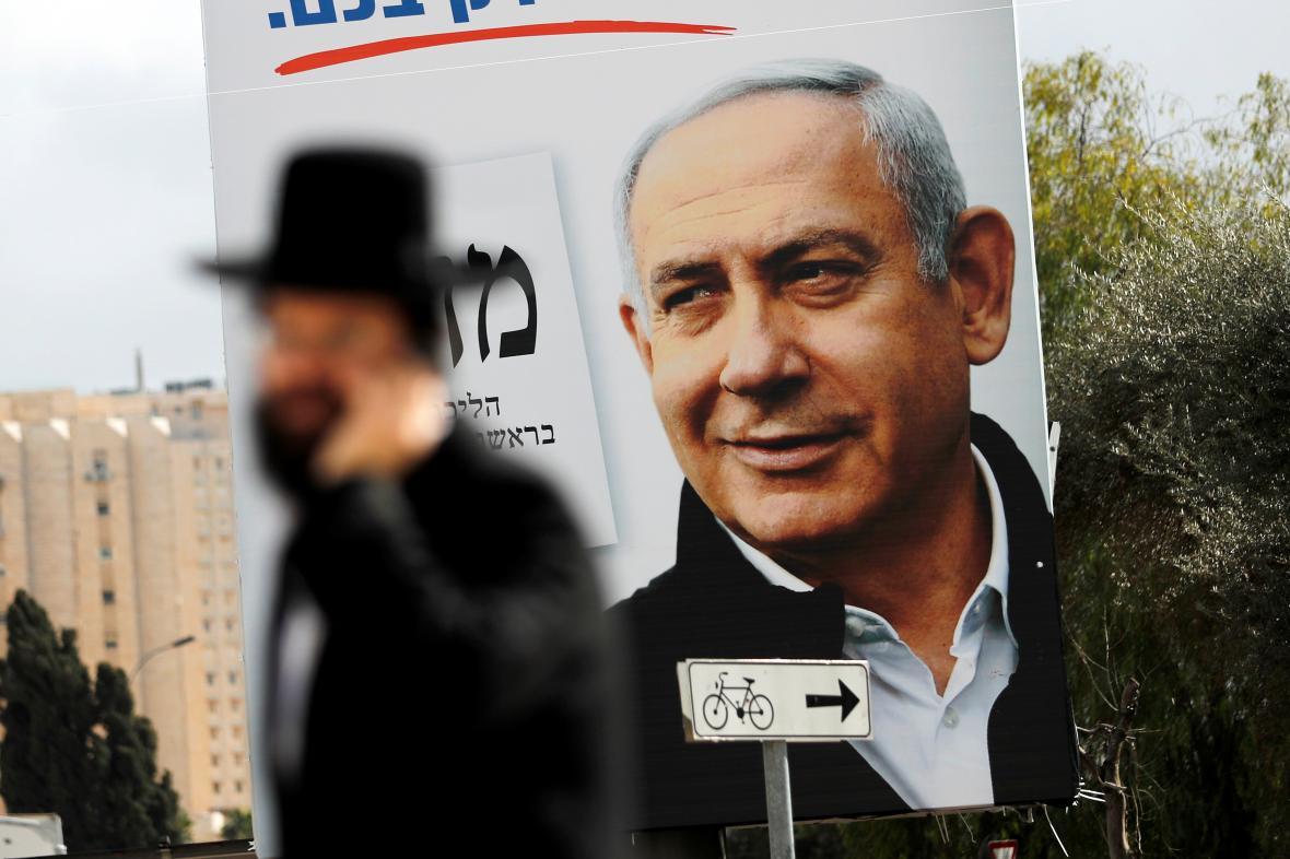 Kampaň Netanjahuovy strany Likud