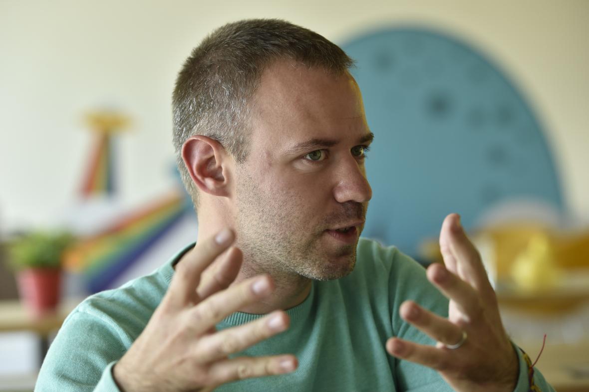 Zakladatel a spolumajitel společnosti Kiwi.com Oliver Dlouhý