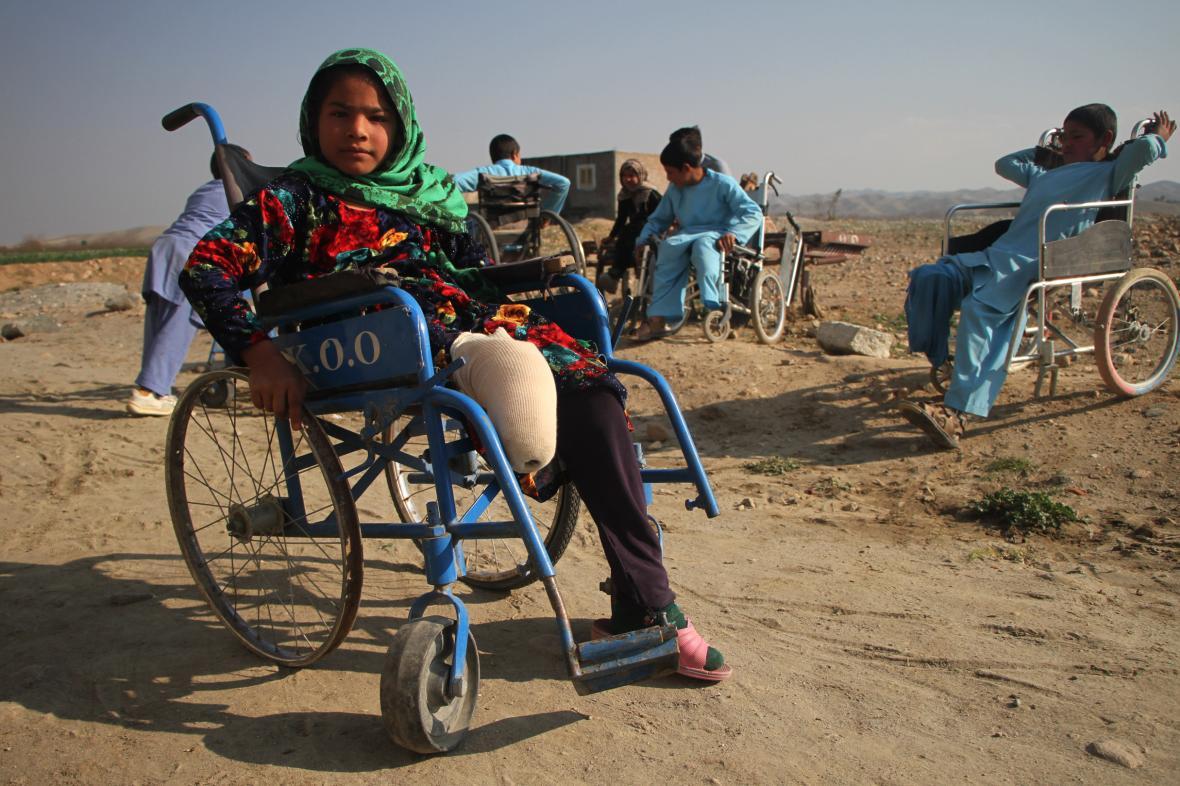 Válka v Afghánistánu poznamenala i řadu dětí