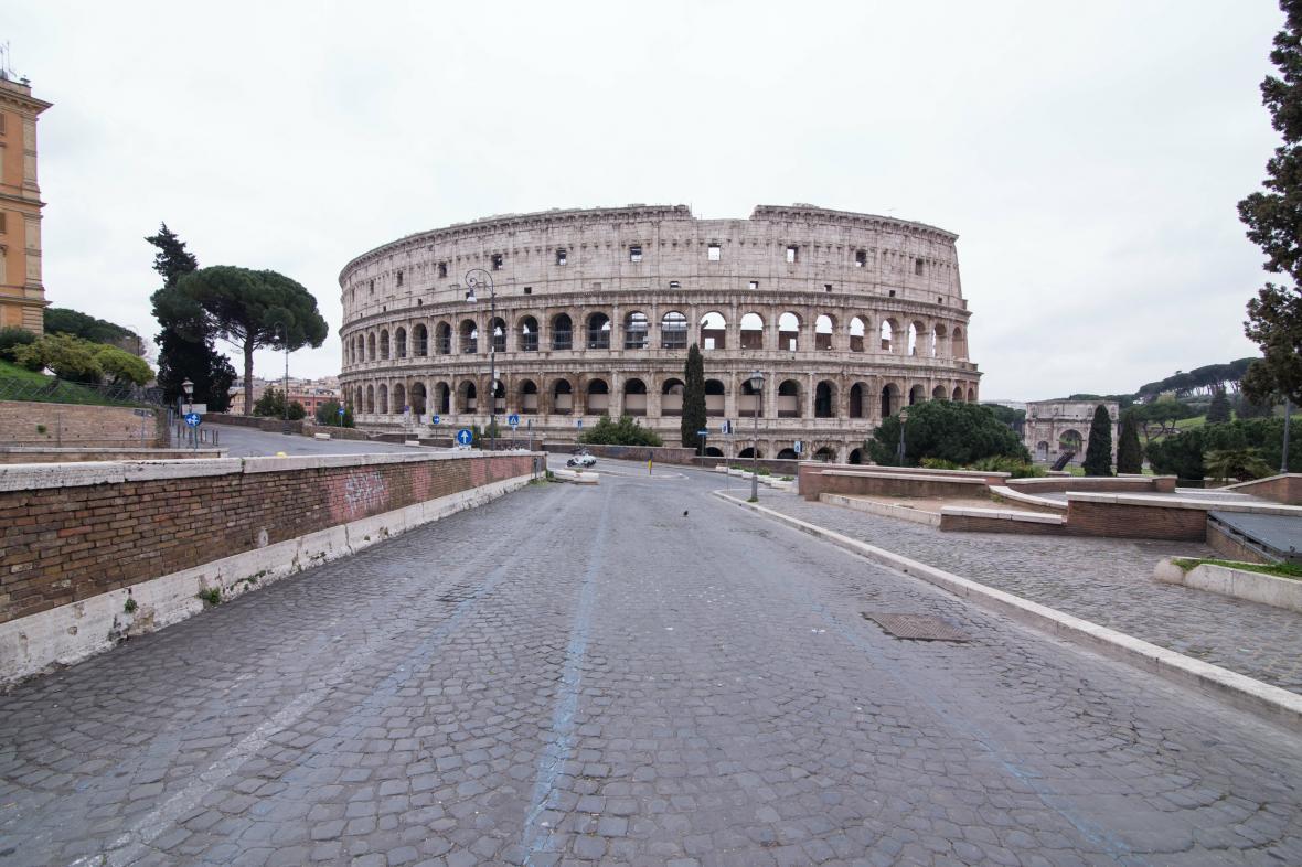 Vylidněný Řím