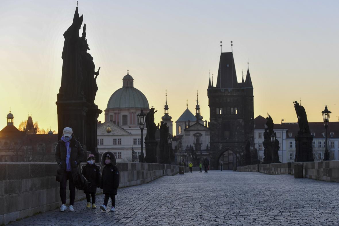 Praha bez turistů